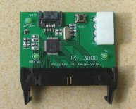 Adapter PATA to SATA for PC3000 PCI