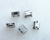 5pcs U025 Micro USB Connector