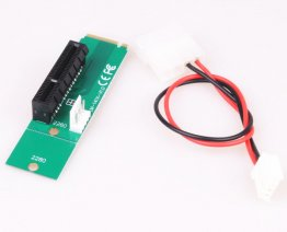 Adapter PCI-e 1X/4X Card to NGFF M.2 M Key