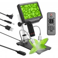 "AD407 7""Screen Digital Microscope HDMI 270X 4MP 3D"