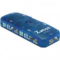4 Port Auto KVM Switch
