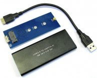Adapter NGFF M.2 SSD to USB 3.0 with Case