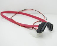 7+6 Pin SATA to SATA + 4 Pin Power Cable
