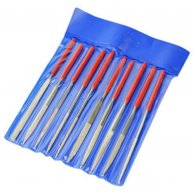 10pcs Precise Needle File Rasp Kit