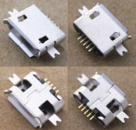 5pcs U028 Micro USB Connector