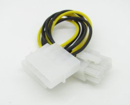 4 Pin Male to EPS 8 Pin Female M/F Y Power Cable