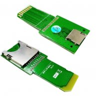 Adapter SDHC SD card / Micro SD / TF Card to SD Extension