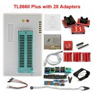 TL866II Plus Programmer + 28pcs Adapters