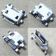 5pcs Micro USB 5pin U429M Charging Tail Plug