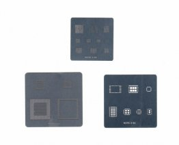 3pcs Samsung Note3 BGA Stencil Templates Heat Directly