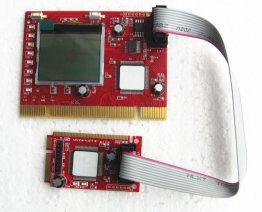 PCI & Mini PCI-E Diagnostic Card with LCD Display