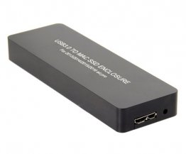 Adapter 2013-2015 Macbook Pro Retina SSD to USB3.0 with Case