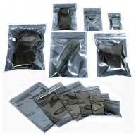 100pcs Anti-Static Aluminum Storage Ziplock Bag 420x480mm