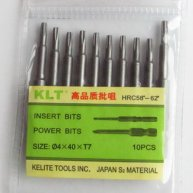 10pcs Star Screwdriver Bit T7