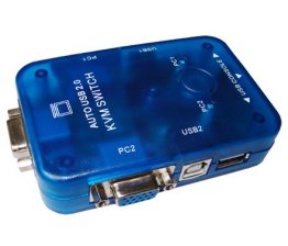 2 Port USB2.0 Auto KVM Switch