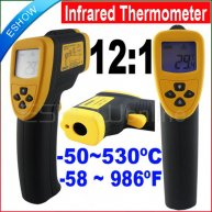 DT8530 Non-Contact Infrared Thermometer Laser Gun LCD