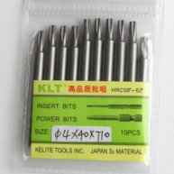 10pcs Star Screwdriver Bit T10
