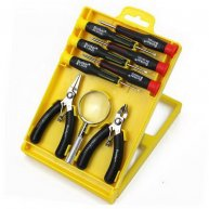 9pcs Bunker Screwdriver Set